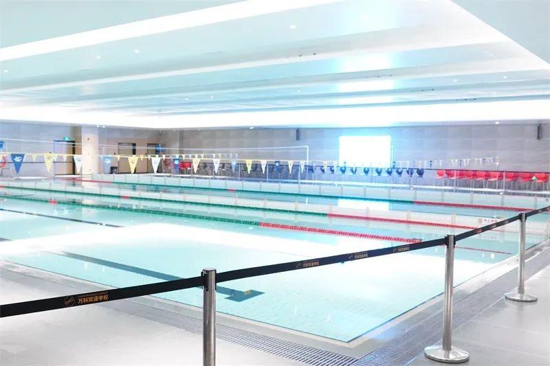 万科双语学校游泳馆全新启用!万科双语好不好?万科双语环境怎么样?